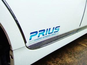 トヨタ・プリウスのステッカー