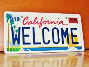 カリフォルニア・基本プレート