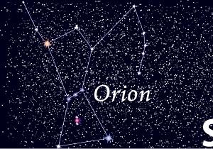 星空の表札・オリオン拡大