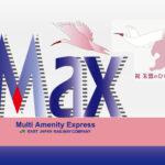 E1系MAXのロゴマークトキのひな誕生